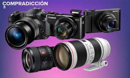 Ofertas fotográficas en Amazon: cámaras compactas, sin espejo y bridge y objetivos a los mejores precios