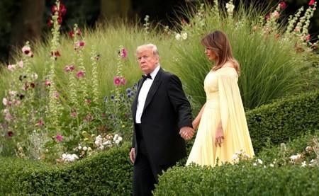 Melania Trump Vestido Amarillo