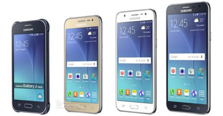 Familia Samsung Galaxy J