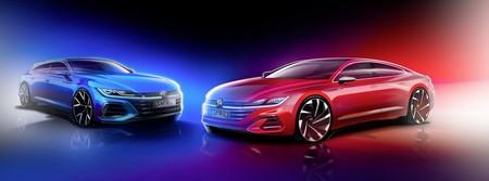 El Volkswagen Arteon revela un teaser de su primer facelift y la prometida versión Shooting Brake