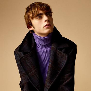 Lennon Gallagher nos introduce a los abrigos infalibles de Zara para vestir el invierno en clave retro