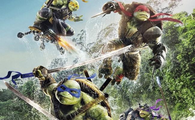 Cartel Ninja Turtles Fuera De Las Sombras Poster