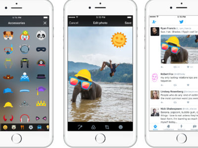 Twitter quiere estar a la moda y por eso añade 'stickers' a las fotografías de su red social