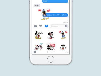Apple publica en la App Store los stickers mostrados durante la keynote de la WWDC 2016