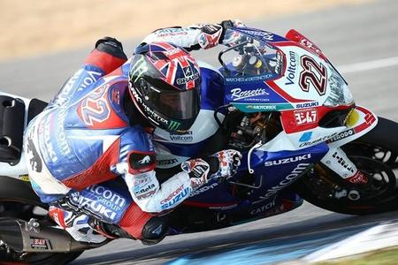 Test Superbike en Jerez: Alex Lowes, Randy de Puniet y el Voltcom Crescent Suzuki