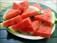 La sandía, la fruta más sana del verano