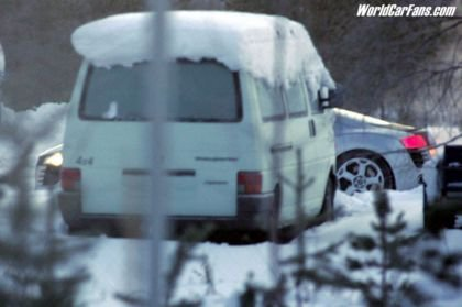 Fotos espía del Audi R8 Supercar