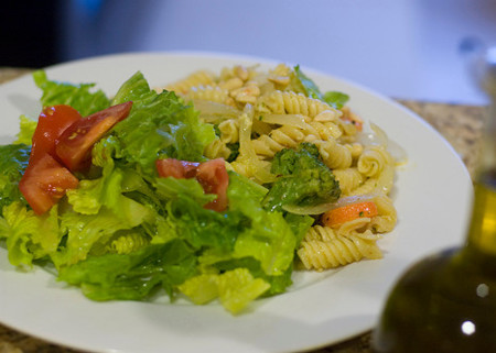 Truco saludable: combinar pastas con vegetales