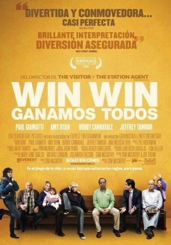 'Win Win (Ganamos todos)', cartel y tráiler