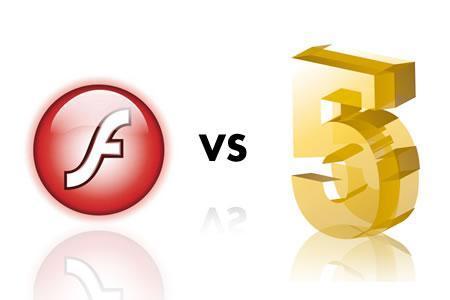 Comparando el rendimiento de HTML5 y Flash