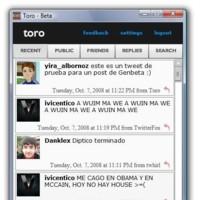 Toro, un cliente para Twitter minimalista y basado en Adobe AIR