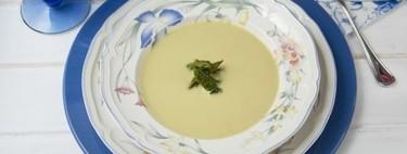 Crema de espárragos verdes: receta con Thermomix