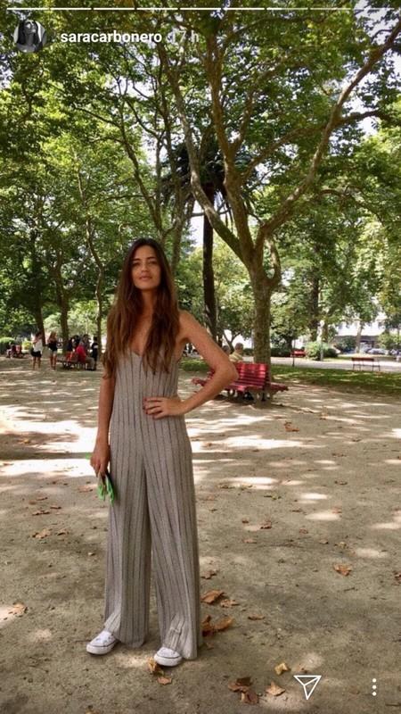 Mono Zara Sara Carbonero