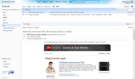 Hotmail Wave 4 trata de acercarse a Gmail: ofrecerá vista por conversación y otras mejoras