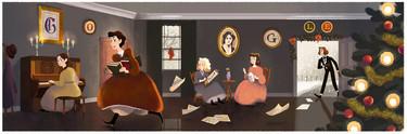 Google dedica su 'doodle' a una de las primeras feministas de la historia: Louisa May Alcott