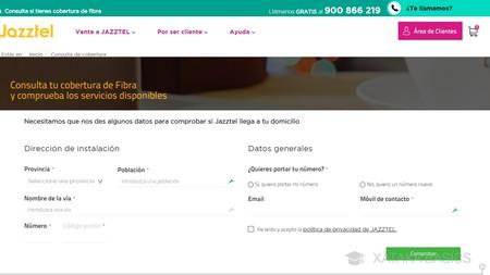 Direccion Jazztel