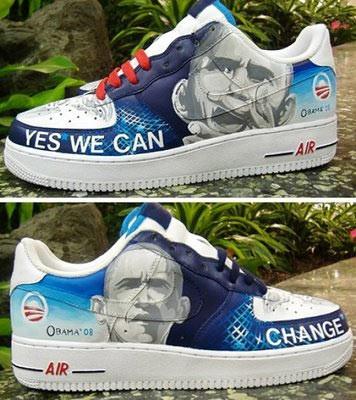 Las zapatillas de Obama