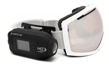 Drift HD, videocámara compacta preparada para la acción