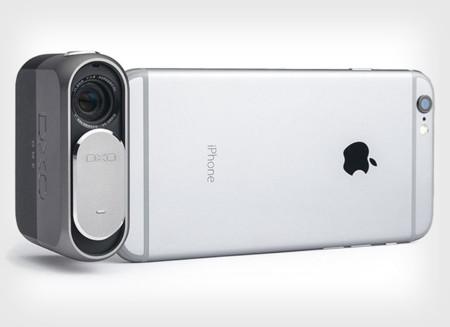 DxO ONE es una pequeña cámara que se empareja con el iPhone y lo sube a otro nivel