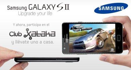 Un Samsung Galaxy S2 puede ser tuyo con el Club Xataka