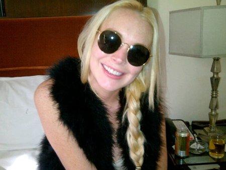 Lindsay Lohan, dientes dientes que es lo que les...