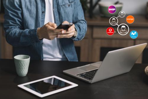 Cuatro preguntas y respuestas sobre la posibilidad compartir datos ilimitados en Movistar, Vodafone, Orange y Yoigo