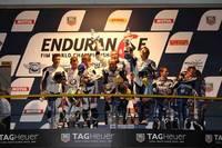 El Suzuki Endurance Racing Team vence las 8 horas de Oschersleben con un pódium de lo más ajustado