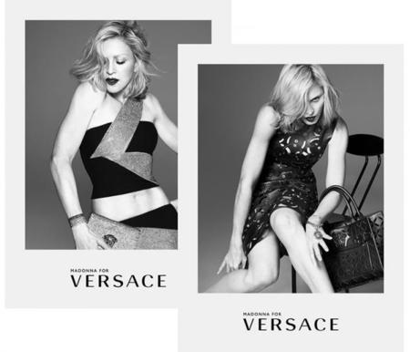 Madonna Versace primavera-verano 2015 campaña