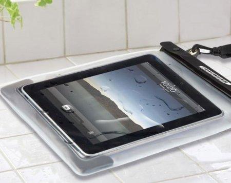 Funda protectora contra el agua para el iPad