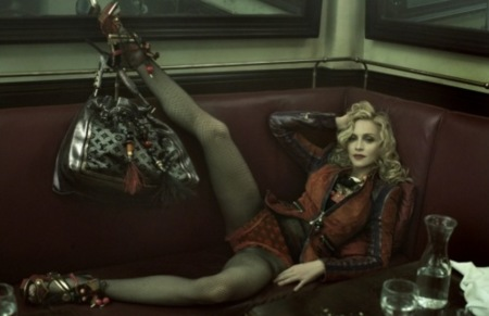Madonna y Louis Vuitton, las imágenes que no cesan