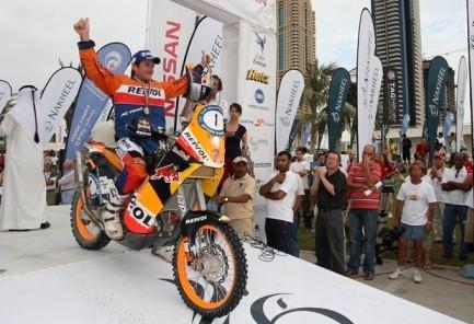 Marc Coma vence en Dubai, y ya mira hacia el Dakar