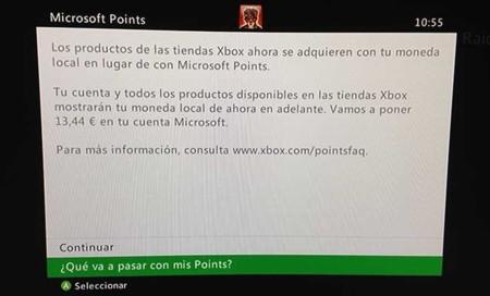 La Xbox 360 dice adiós a los Microsoft Points, y hola a nuestra moneda local
