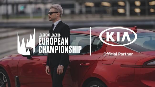 Kia Motors y Riot Games llegan a un acuerdo para que la marca surcoreana patrocine la LEC