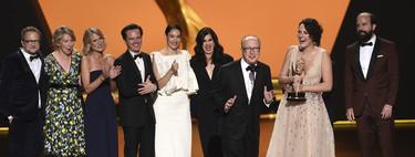 Los mejores momentos de los Premios Emmy 2019: del tierno abrazo de Sophie Turner y Kit Harrington a la victoria de Fleabag
