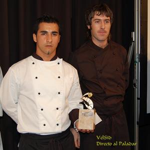 Juan Pablo Bassi, ganador del Concurso Nacional de Cocina Aplicada al Langostino de Vinaròs 07