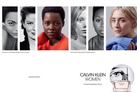 Lupita Nyong'o y Saoirse Ronan se convierten en las nuevas caras de Women, la última fragancia de Calvin Klein
