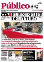 'Grand Theft Auto IV' en la portada del diario 'Público'