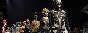 Siete looks de las colecciones de Moschino que resultaron ser un perfecto disfraz de Halloween