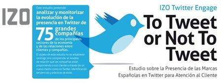 La empresa española se posiciona pero no usa Twitter de forma habitual