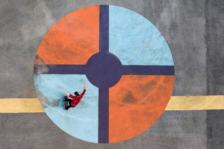 Skypixel 6th Anniversary Contest Photo Group First Prize Sport Colour Series Bulls Eye