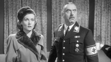 Carole Lombard y Sig Ruman en
