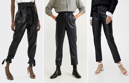 Tendencias Aw 2019 2020 Pantalones Piel