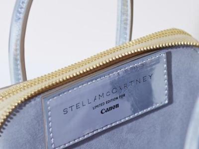 Linda, la bolsa más cool para tu cámara de fotos Canon (por Stella McCartney)