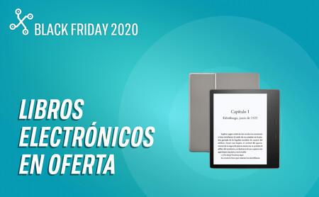 Lectores de libros electrónicos en oferta por el Black Friday: Kindle, Kobo y más eReaders a un precio todavía más bajo