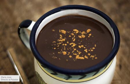 Chocolate a la taza a la española: receta tradicional