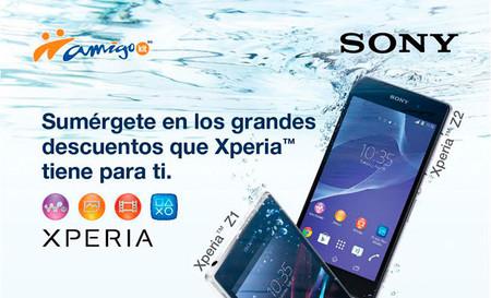 Sony y Telcel anuncian descuentos para el Z1, Z1 Compact y Z2 por tiempo limitado