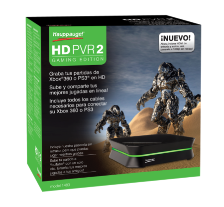 La Hauppauge HD PVR 2 se ofrece a grabar por ti tus partidas míticas