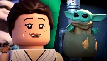 Baby Yoda, protagonista en el primer tráiler de 'Lego Star Wars: Especial Felices Fiestas', el nuevo especial navideño de Disney+