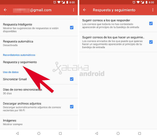 Gmail Recordatorios Automáticos