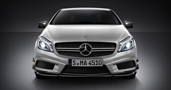 Mercedes-Benz A 45 AMG frontal